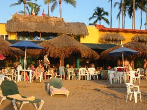 Watching the sunset is unforgettable in Chacala !