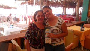 Piedad & Karla will greet you !