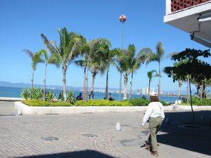Always a cool breeze walking the Malecon !