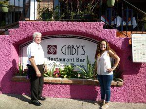 Gaby & Librado will greet you!