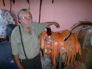 Meet Javier Ruelas, the Saddle Maker !