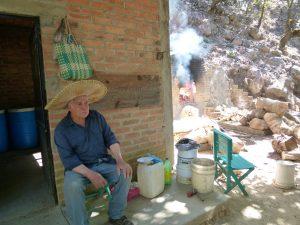 """The Master """"Raicilla{ Maker taking a break !"""